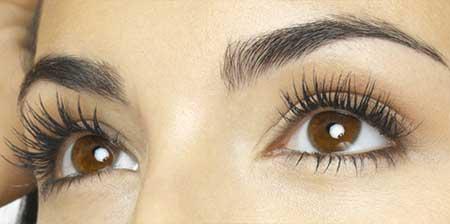 نحوه آرایش چشم