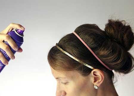 استفاده از اسپری مو