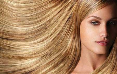 رنگ موهای بسیار زیبا با موهای بلند