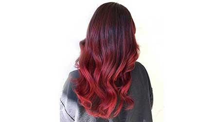 نتیجه تصویری برای رنگ مو آمبره