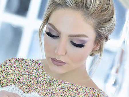 آلبوم تصاویر مدل آرایش عروس 2017