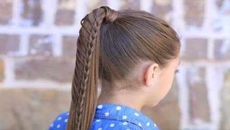 موهای دخترتان را خودتان درست کنید