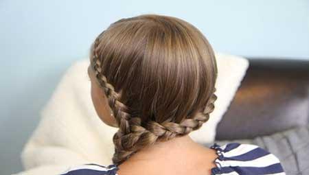 واسه دختر کوچیکم مدل مو دخترانه