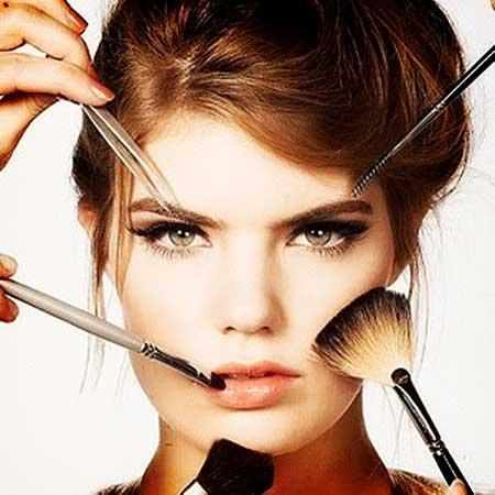 آرایش خیلی غلیظ دخترها در مهمانی