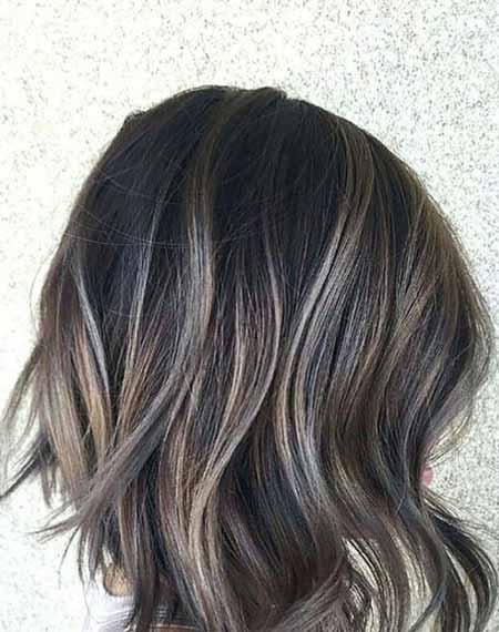 جدیدترین هایلایت ها برای موهای مشکی