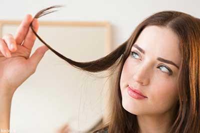 درمان موهای نازک