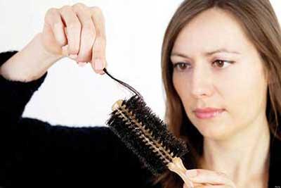 درمان ریزش مو با رژیم غذایی