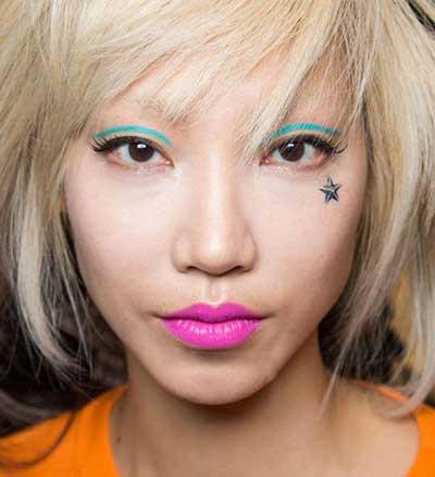 مدل آرایش لب