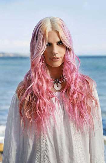 مدل رنگ مو