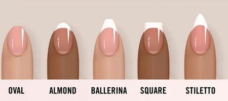 مدل ناخن مناسب با دست هایتان را انتخاب کنید
