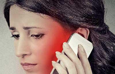امواج تلفن همراه بر پوست