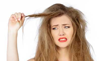 برطرف کردن خشکی و وزی موها