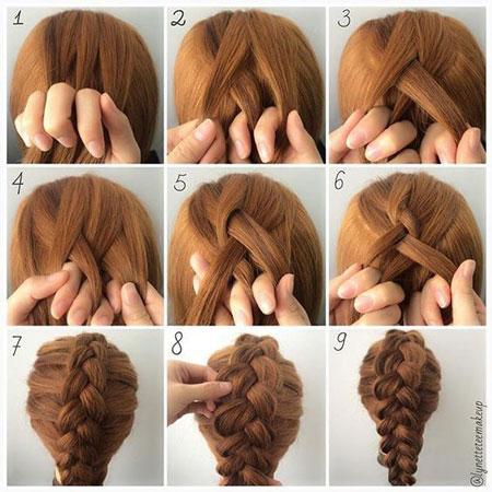 مراحل بافت موی هلندی