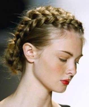 مدل موهای بافته شده