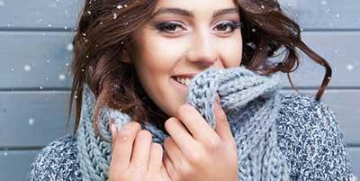 آرایش خیرهکننده برای زمستان