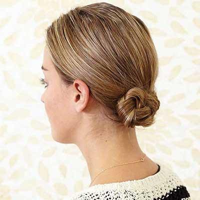 مدل موهای سادهی ۵ دقیقهای