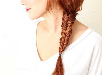 یک روش ساده برای بافت مو + اموزش تصویری