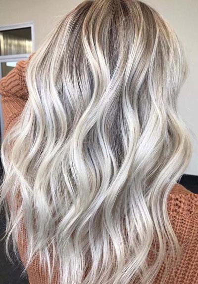 رنگ موهای جذاب