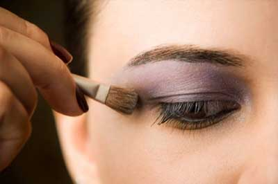 روش آرایش چشم