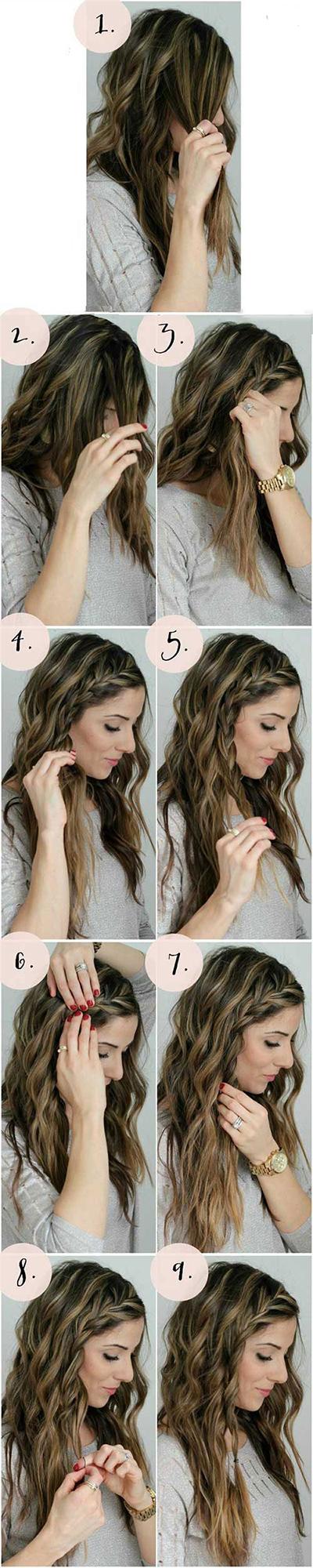 مدل های بستن مو برای خانم ها