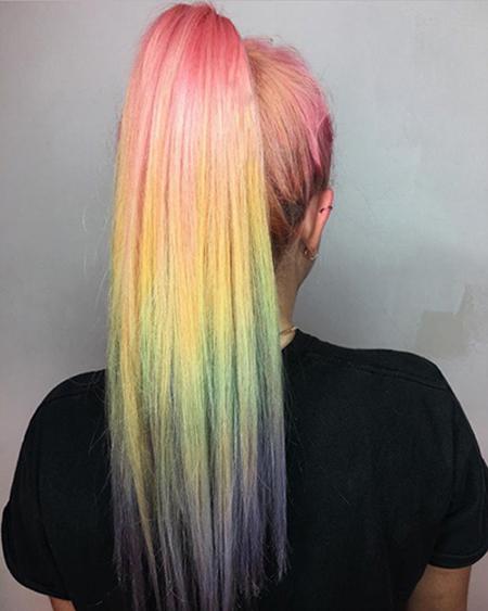مدل رنگ موهای جدید