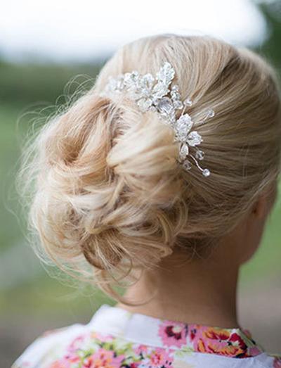 جدیدترین مدلهای آرایش موی عروس
