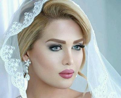 عکس آرایش عروس