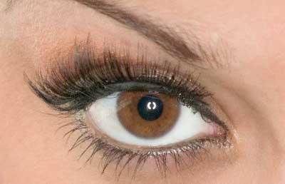 روش ارایش برای پوست تیره با چشم قهوه ای