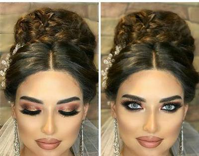 زیباترین آرایش عروس