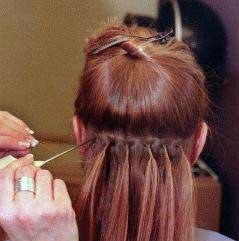 اکستنشن مو,موی طبیعی