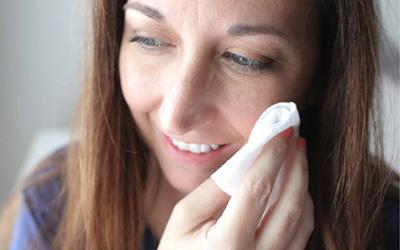 طریقه پاک کردن آرایش