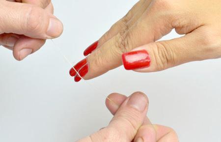 جدا کردن ناخن مصنوعی از روی ناخن,طریقه جدا کردن ناخن مصنوعی از روی ناخن
