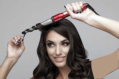 روشهای فر کردن مو ,آموزش تصویری فر کردن مو با بابلیس , فر کردن مو با بابلیس