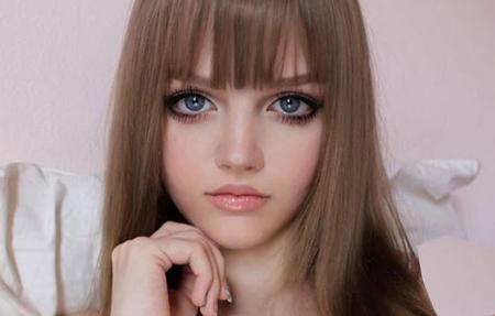 آرایش عروسکی , مدل آرایش عروسکی , آموزش آرایش عروسکی