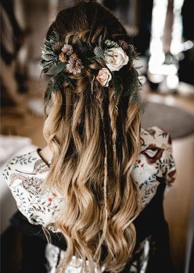 آرایش موی عروس,مدل موی فرمالیته عروس,مدل موی فرمالیته