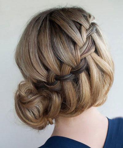 آموزش تصویری بافت موی آبشاری