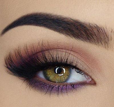 آرایش چشم رنگی,آرایش چشم,آرایش چشم با لنز رنگی
