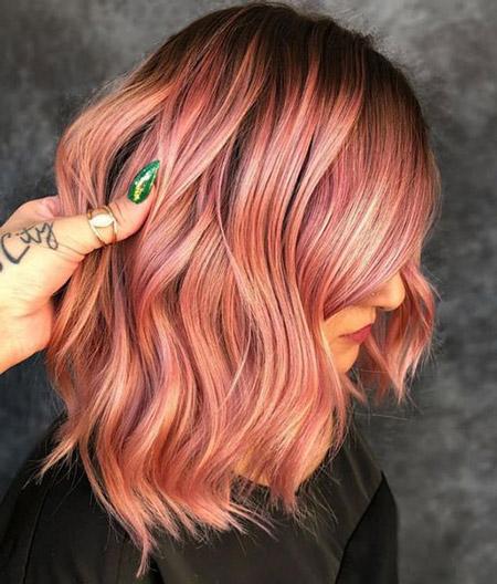 رنگ مو مرجانی, رنگ موی مرجانی, انواع رنگ موی مرجانی