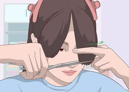 کوتاه کردن مو,آموزش کوتاه کردن مو,کوتاه کردن موی زنانه در خانه