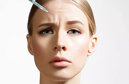عوارض تزریق بوتاکس,تزریق بوتاکس,افتادگی پلک بعد از بوتاکس