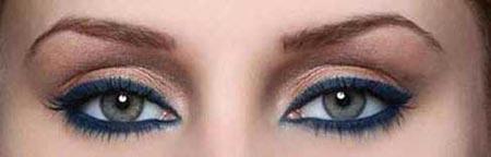 آرایش چشم,مدل آرایش چشم,آموزش آرایش چشم