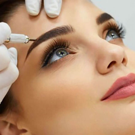eyebrow plucking 2 - هاشور ابرو