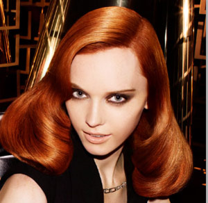 ترکیب رنگ مو مسی آتشین