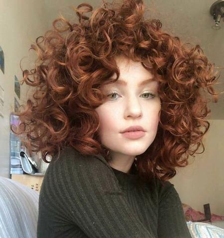 مدل مو های فر, مو های فر و باز, عکس مو های فر