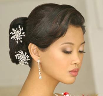 آلبوم تصاویر مدل شینیون عروس 2017,گالری عکس شینیون عروس 2017