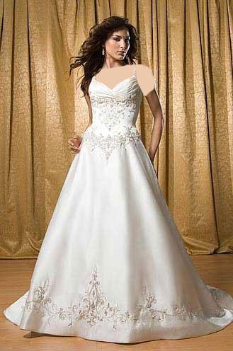ویسگون مدل لباس عروس