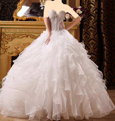 عکس لباس عروس سایت ویسگون سری چهارم