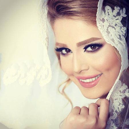 آرایش عروس,عکس آرایش عروس,تصاویر آرایش عروس
