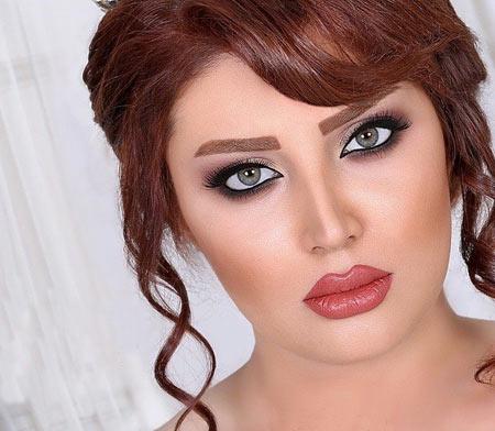 مدل آرایش عروس,جدیدترین مدل آرایش عروس,انواع آرایش عروس