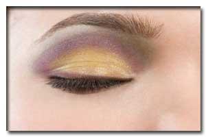 روش زدن سایه چشم